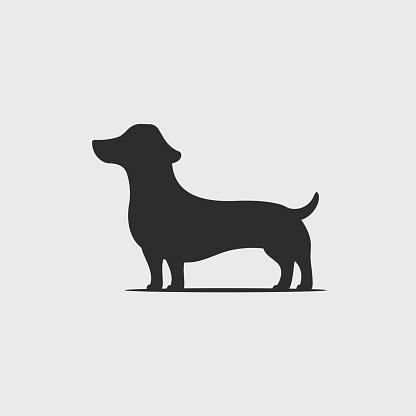 Dachshund Puppy Silhouette