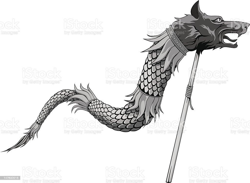 Dacian Warrior Flag St...