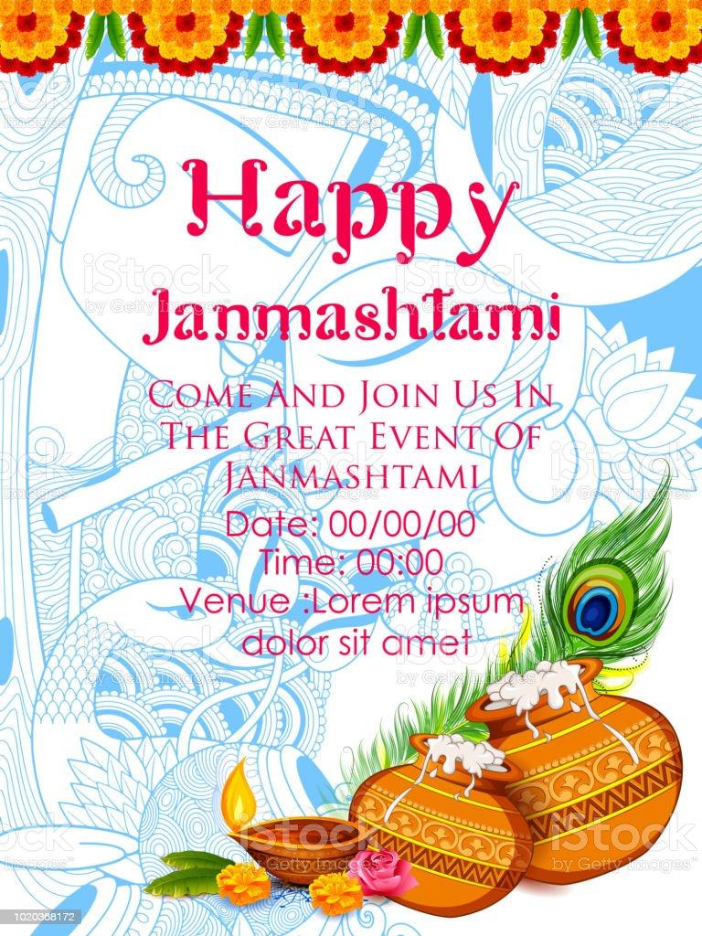 Dahi Handi Celebration In Happy Janmashtami Festival