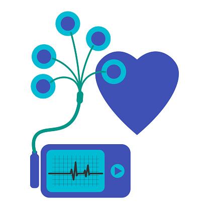 毎日心電図の監視毎日使用するためホルターデバイスは心の出血を監視し ...