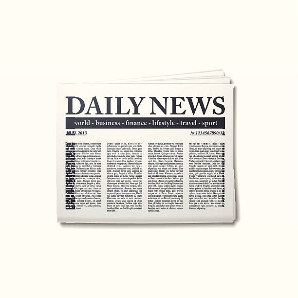 Royalty Free Newspaper Headline Clip Art, Vector Images ...