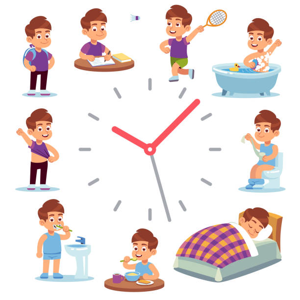 maintain a schedule to overcome sleep problems