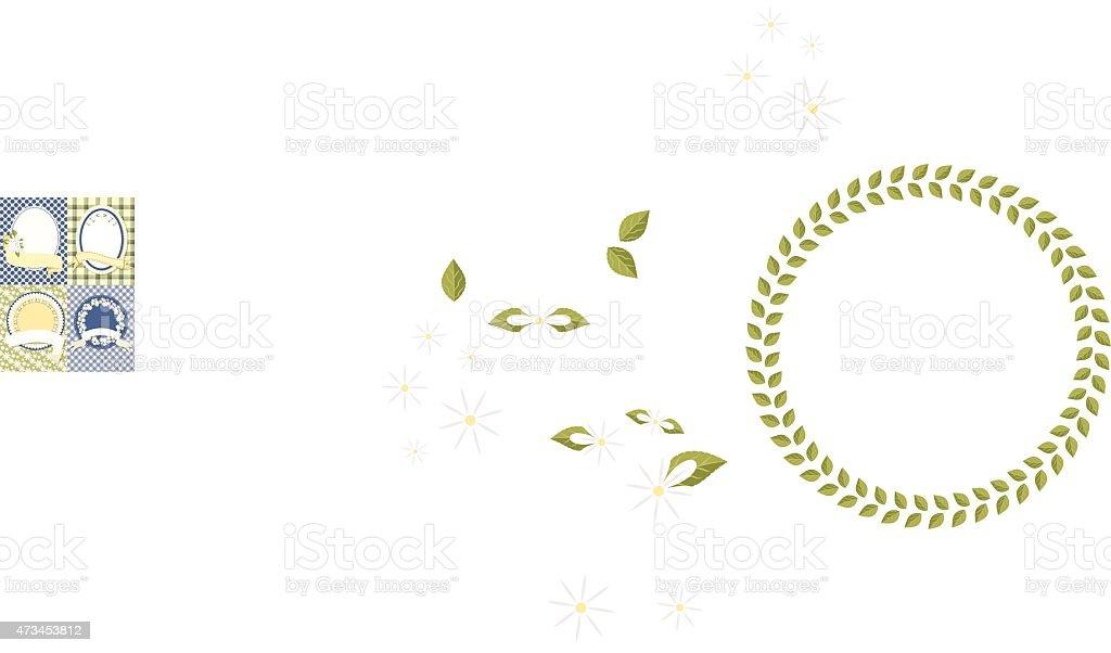 Daisy Backgrounds - Set of 4 vector art illustration
