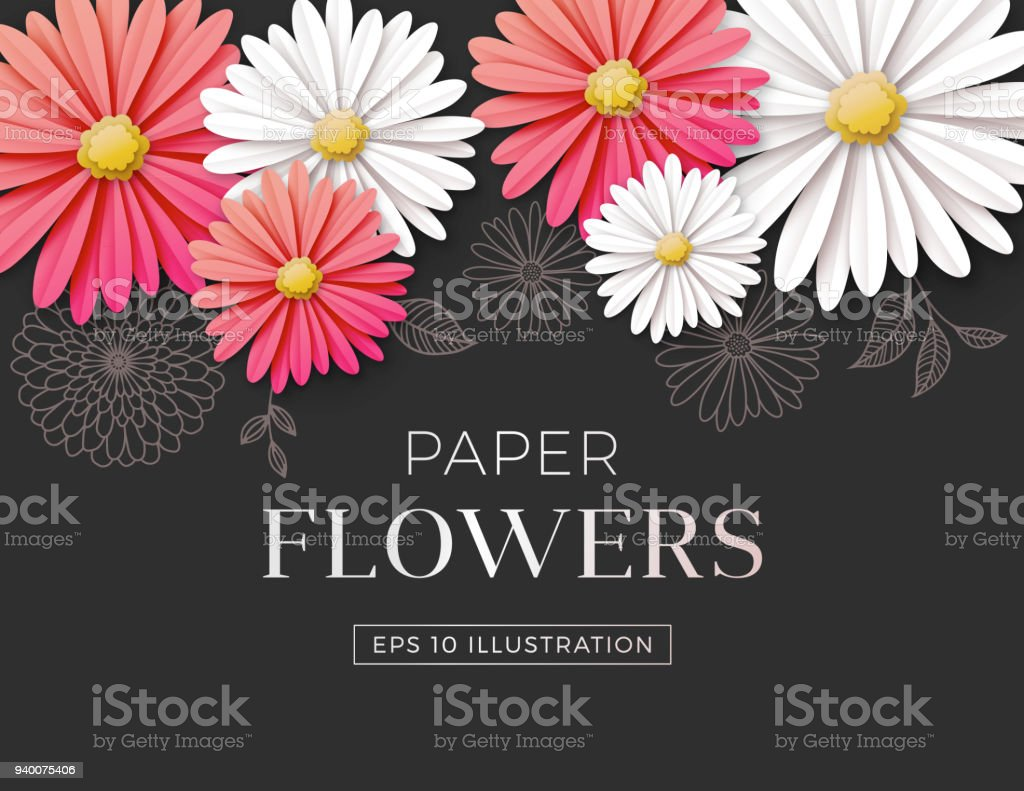 Daisy flower background stock vector art more images of daisy flower background royalty free daisy flower background stock vector art amp more images only from istock izmirmasajfo
