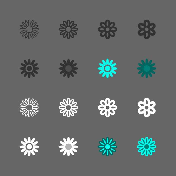 Daisy Icon - Multi Series Daisy Icon Multi Series Vector EPS File. daisy stock illustrations