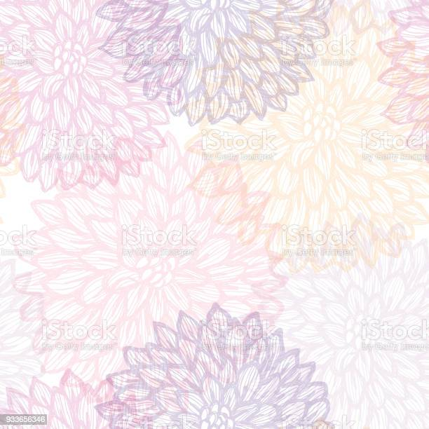 Dalhia seamless vector pattern ink drawing with watercolor texture vector id933656346?b=1&k=6&m=933656346&s=612x612&h=zczqpjx08zan et hdqbd1ivayv4ntv9c0xng xqywk=
