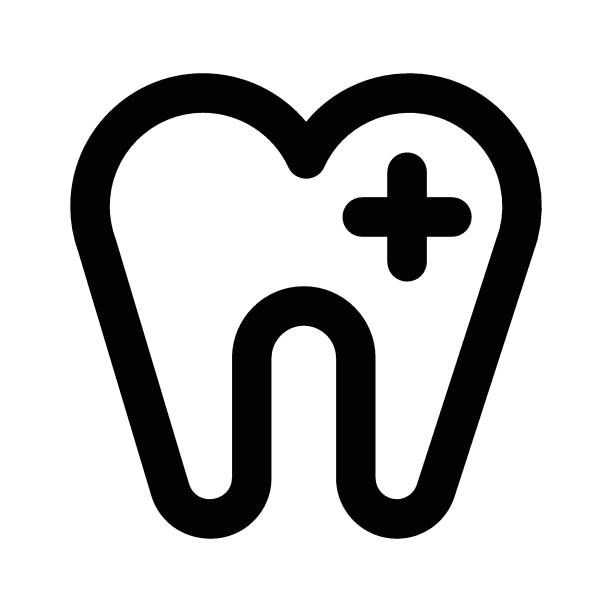 stockillustraties, clipart, cartoons en iconen met schade tanden - streptococcus mutans