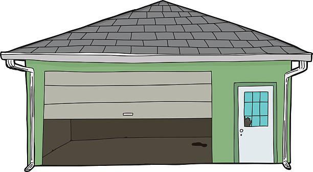 Garage Door Clip Art : Royalty free garage door open clip art vector images