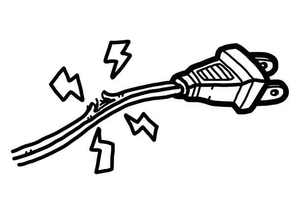 Cartoon Of The Short Circuit Illustrations, Royalty-Free