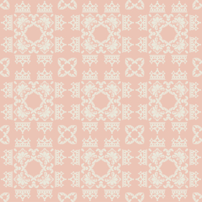 Damask Decorative Wallpaper For Walls Stock Illustration Download Image Now Istock