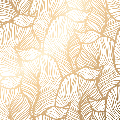Damask floral pattern. Royal wallpaper
