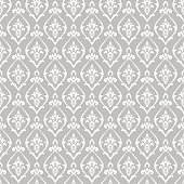 Damask pattern vector. Design print for wallpaper, fabric or wrapping paper.