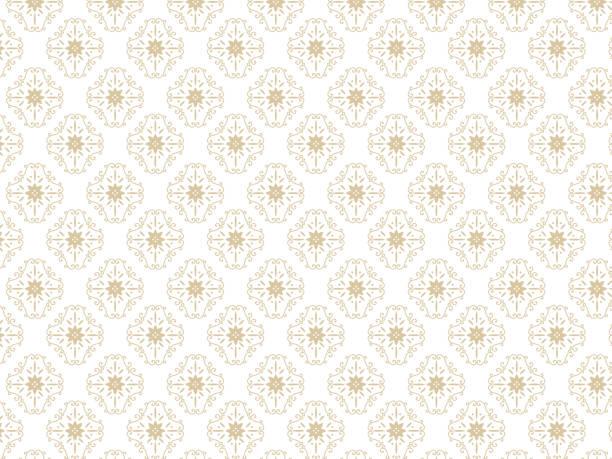 ダマスク pattern2 - パターンや背景点のイラスト素材/クリップアート素材/マンガ素材/アイコン素材