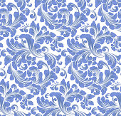 istock Damask seamless pattern element. Vector classical luxury old fashioned damask ornament, royal victorian seamless texture for wallpapers, textile, wrapping. Vintage exquisite floral baroque template. 1276462339