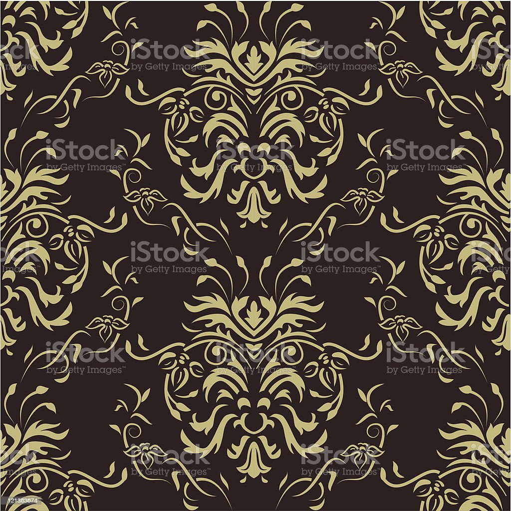 Damask seamless pattern royalty-free damask seamless pattern stock vector art & more images of backgrounds