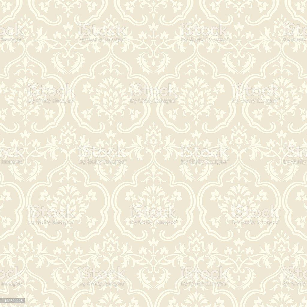 Damask Wallpaper Pattern royalty-free stock vector art