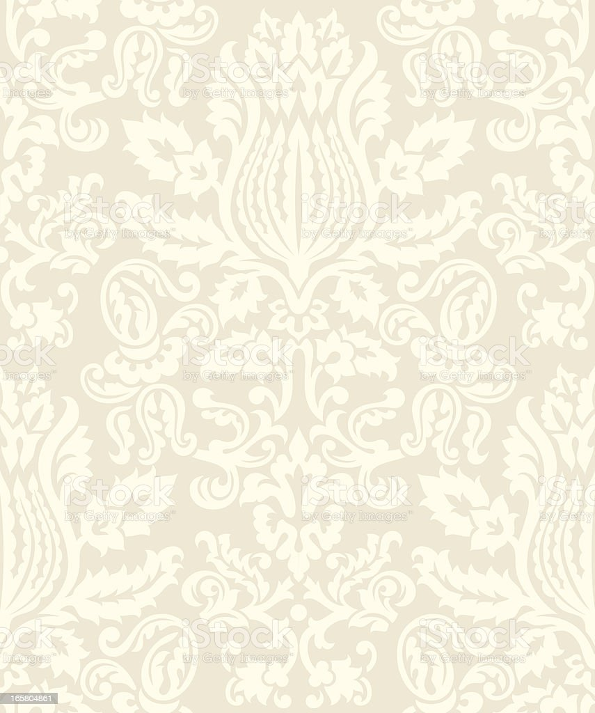 Damask Wallpaper Pattern royalty-free damask wallpaper pattern stock vector art & more images of backgrounds