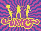 Dance Text in Groovy style