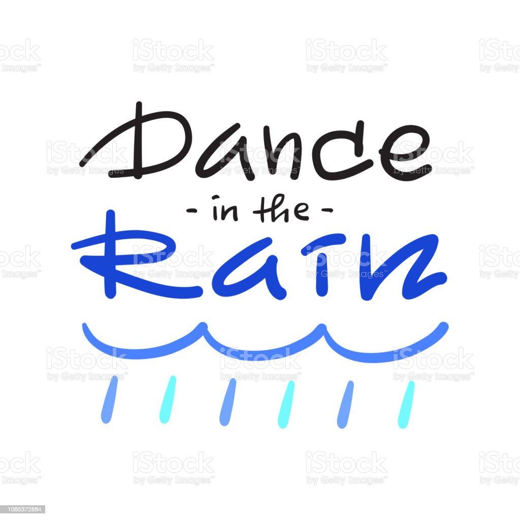 Danser Sous La Pluie Simple Inspiration Et Motivation