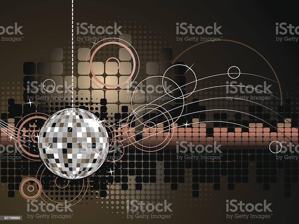 Dance-Musik im Hintergrund Lizenzfreies dancemusik im hintergrund stock vektor art und mehr bilder von abstrakt