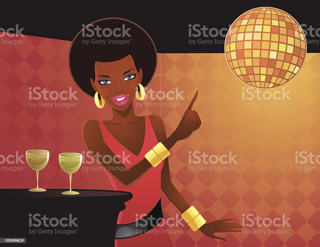 Dance or Drink? royalty-free stock vector art