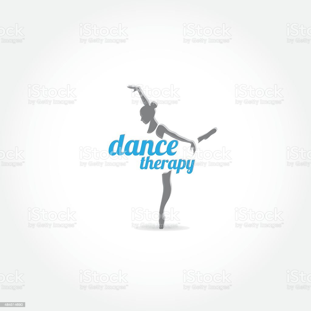Dance therapy vector art illustration