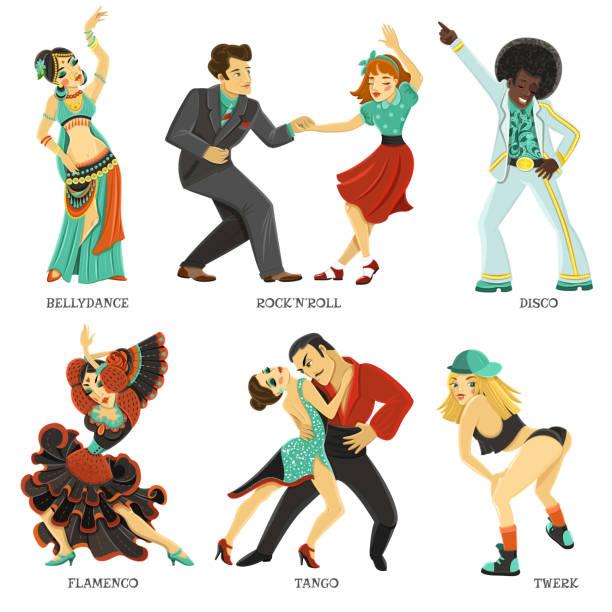 illustrations, cliparts, dessins animés et icônes de danse - twerk