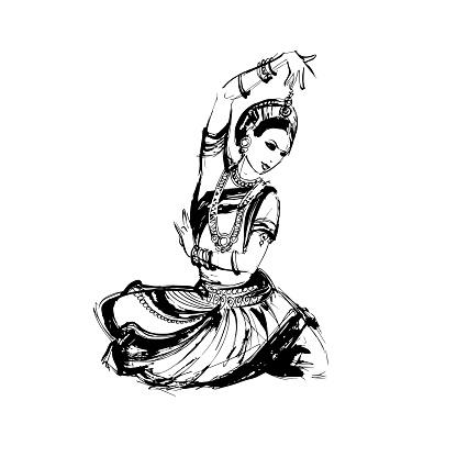 dancer Indian dance
