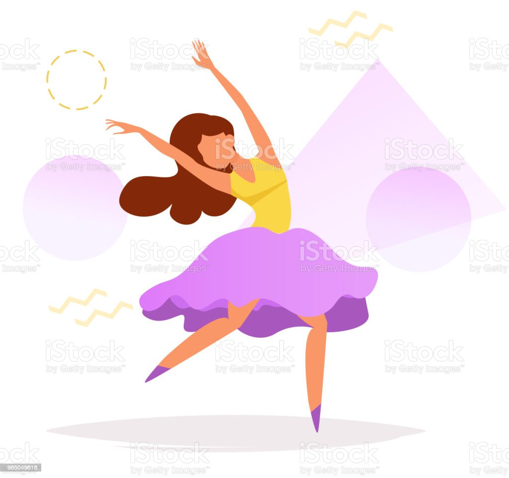 Dancer Vector. Cartoon royalty-free dancer vector cartoon stock vector art & more images of adult