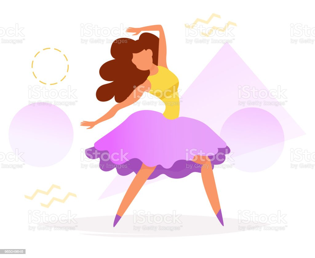 Dancer Vector. Cartoon royalty-free dancer vector cartoon stock vector art & more images of adult