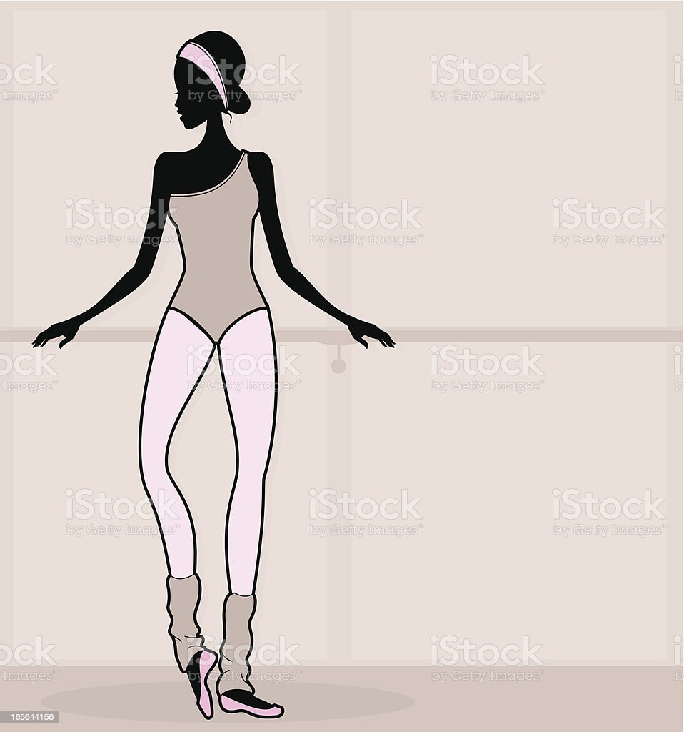 Dancer vector art illustration