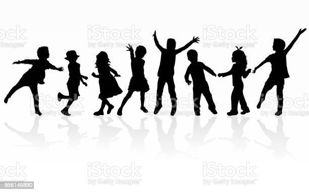 Dancing children silhouettes vector id956146890?b=1&k=6&m=956146890&s=612x612&h=exn1luytrrvzkqcmipoaaegzko7z1stvumj gpefkq4=