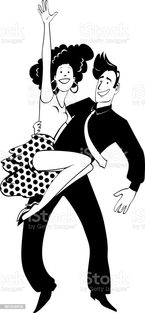 dancing couple clipart stock vector art more images of adult rh istockphoto com cartoon dancing couple clipart dancing couple clipart free