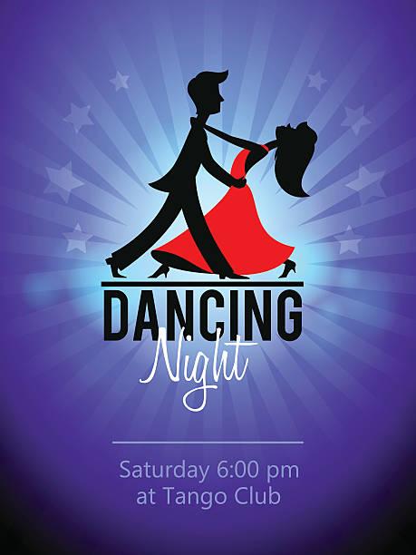 ilustrações, clipart, desenhos animados e ícones de dança casal. club de fidelidade - baile de graduação
