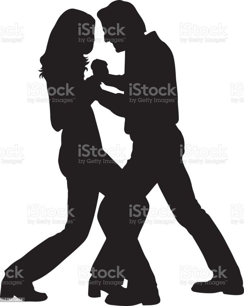 ダンスカップルシルエット のイラスト素材 178310944 | istock