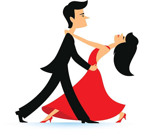 ilustrações, clipart, desenhos animados e ícones de dança casal - baile de graduação