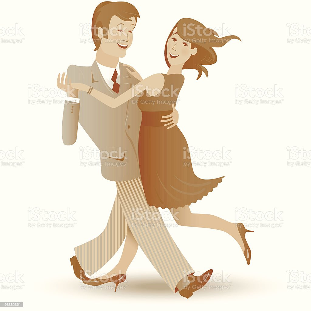 Dancing couple royalty-free dancing couple stock vector art & more images of adult