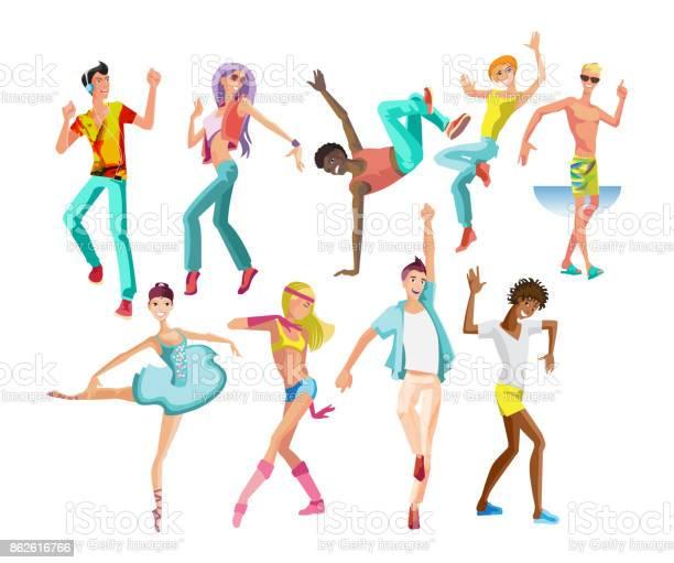 Dancing guys girls in modern styles with different movements vector id862616766?b=1&k=6&m=862616766&s=612x612&h=fytsva zq8g3i0kz6u gl eeajyghdov1kwqt21kwu0=