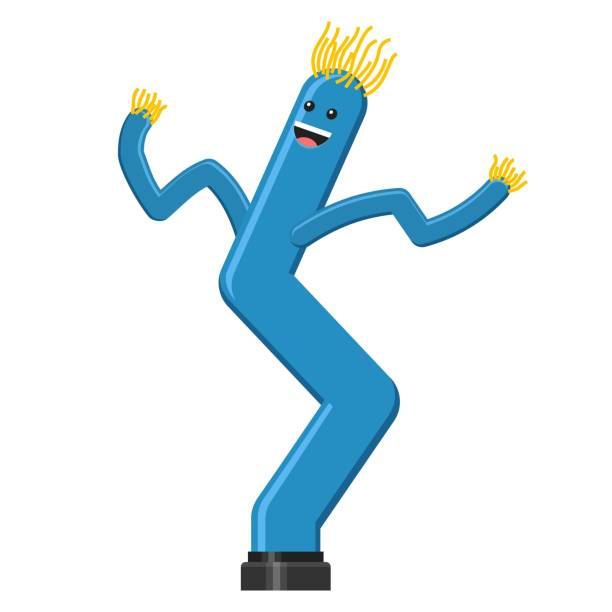 Best Wacky Inflatable Illustrations Royalty Free Vector Graphics