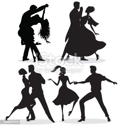 istock Dancing Silhouettes 165692520