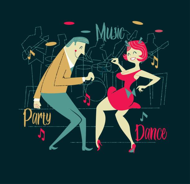 De danse - Illustration vectorielle