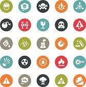 Danger and Destruction icons / Ringico series
