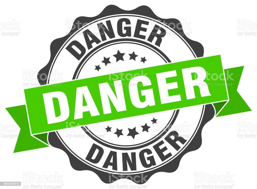 danger stamp. sign. seal royalty-free danger stamp sign seal stock vector art & more images of award ribbon