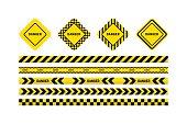 danger tapes, danger sign