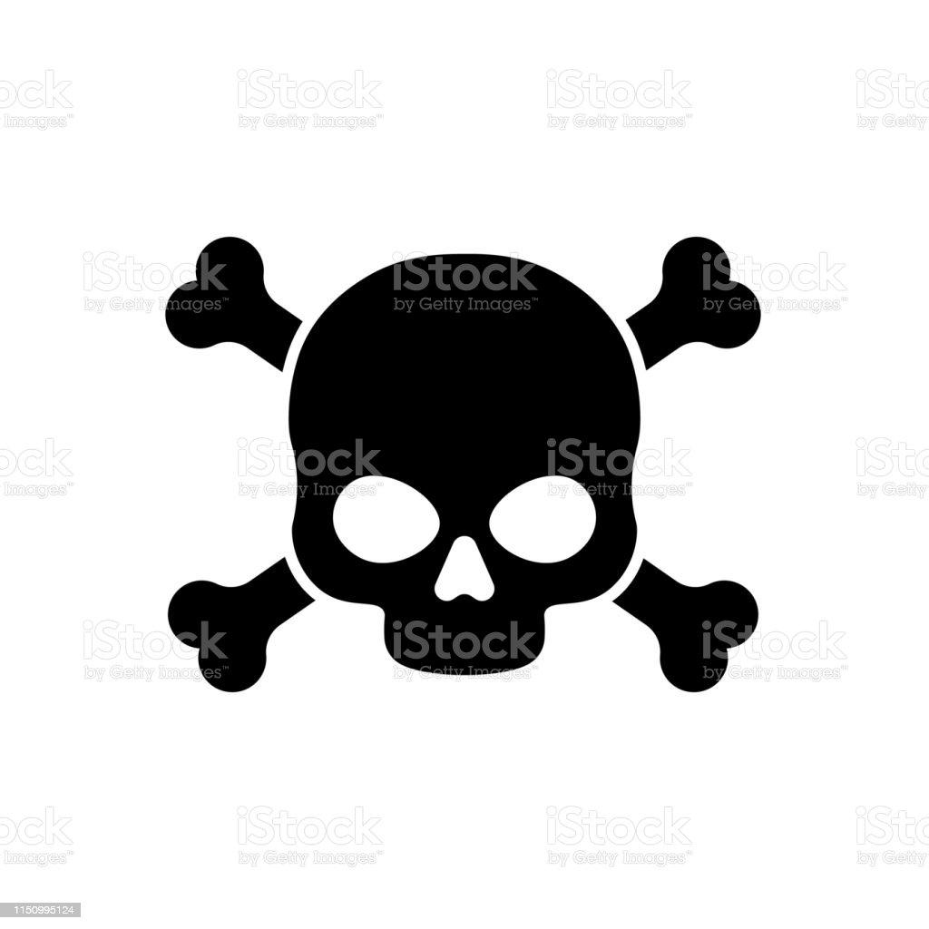Gevaar vector teken illustratie geïsoleerd op witte achtergrond - Royalty-free Arbeidsveiligheid vectorkunst