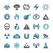 Danger Warning Icons - Qual Series