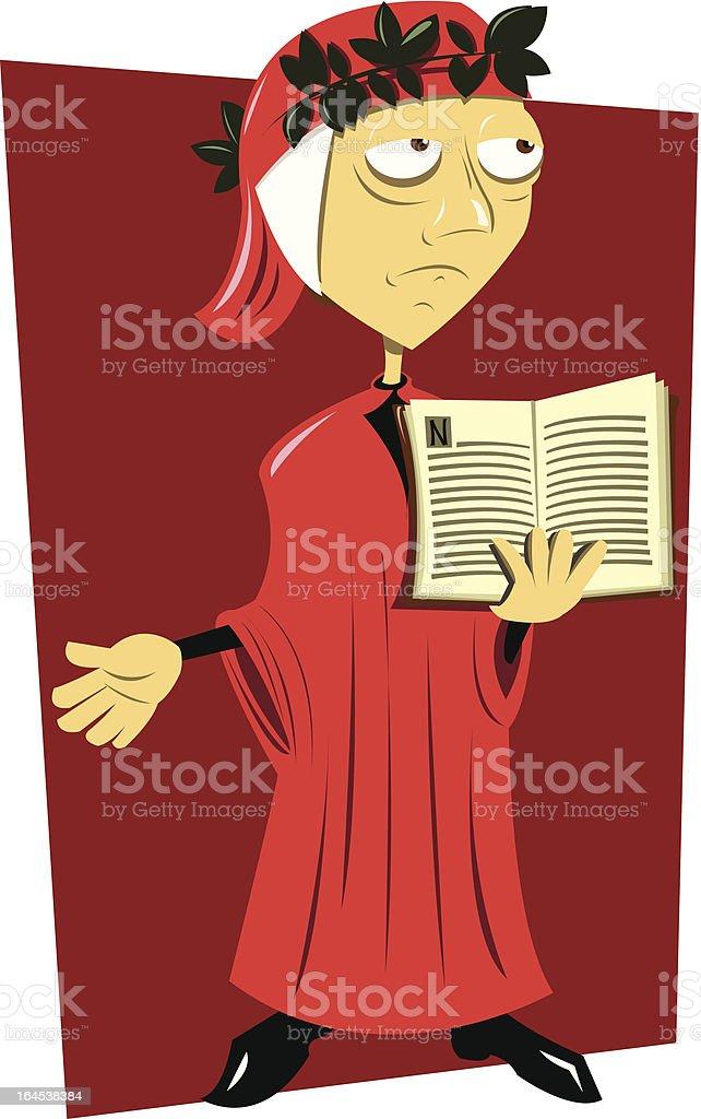 Dante Alighieri royalty-free dante alighieri stock vector art & more images of adult