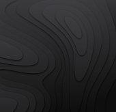 Dark 3D Topographic Layers
