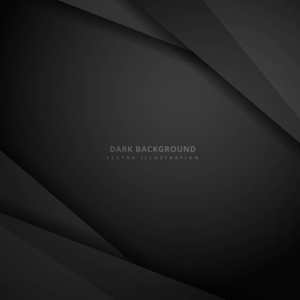 dark abstract background vector art illustration