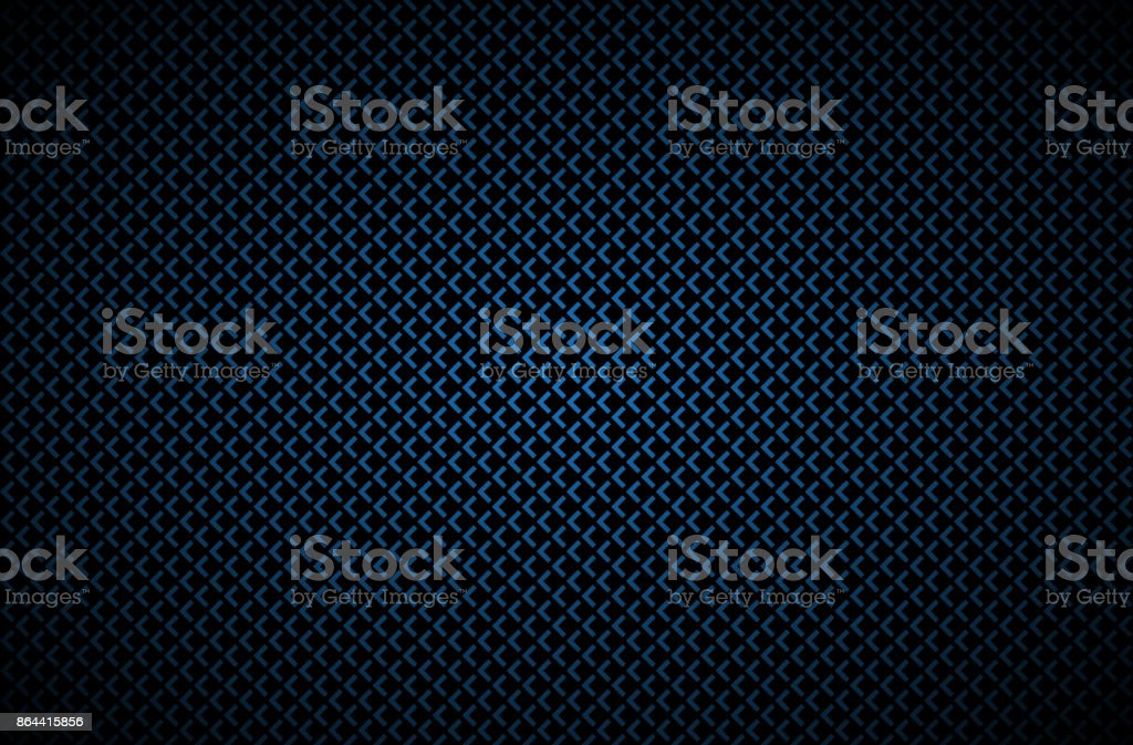 Dark abstract background with blue corners, carbon fiber, vector illustration royalty-free dark abstract background with blue corners carbon fiber vector illustration stock illustration - download image now